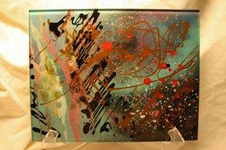 "Melrose, ""The Milkyway"", 2012, 33 x 26 cm."