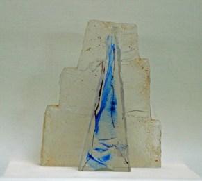 """Grzegorz Staniszewski, """"Zukkeret"""", 2010, kristalglas, 32x26 cm (hxb)."""