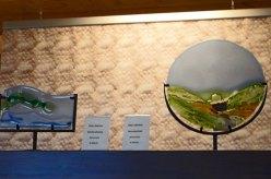 """Ellen Welten, """"Eifellandschap"""" en """"Noorderlicht"""" in het Veluws Museum."""