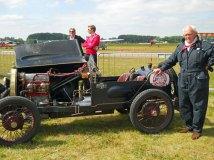 Het team Jessen reed met een zeer fraaie Bugatti 1927.