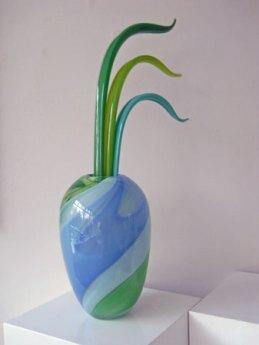 Anna Ehrner, geblazen glas, unikate.
