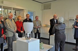 Margriet Pleiter bedankt alle kunstenaars.