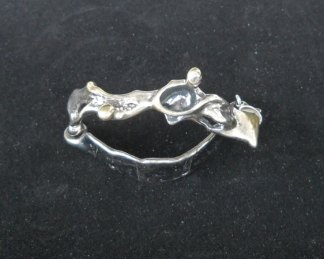 Jits Bakker, Armband, 1e gehalte zilver.