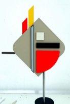 """""""Flame- 2"""", 2016 , 55x26x8 cm, Ruimtelijk-Beelden-Kunststof."""