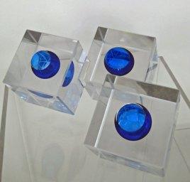 Kubussen-Blauw