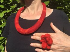 Collier-en-ring---rood