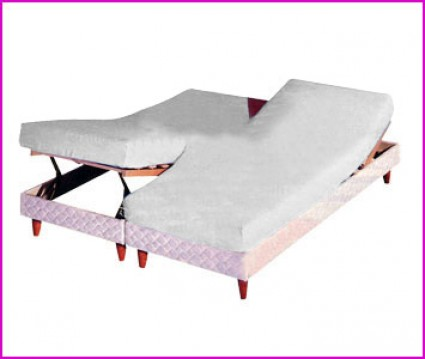 Drap Housse Lit Relevable Ou Papillon Blanc Des Vosges 2x90x200 Blanc