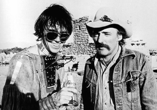 Neil Young et Dennis Hoper