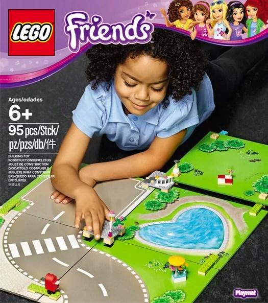 lego friends 853671 pas cher tapis de
