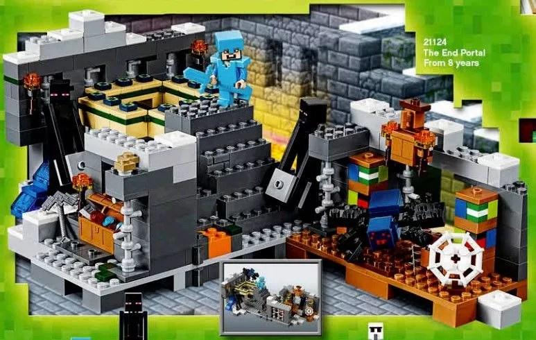Nouveauts LEGO Minecraft 2016
