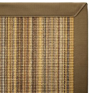 tapis sur mesure sisal bayadere