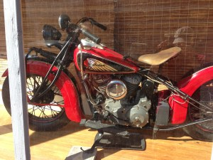 This Indian racer has been well restored.