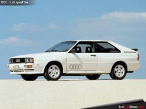 1980 Quattro - Not a bad looking car at that!!!