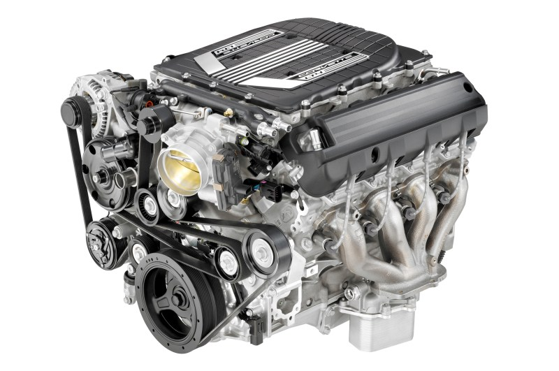 Super Charged, Direct Injection LT4 Engine