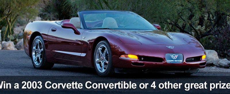 Win this 2003 C5 Corvette Convertible!!!