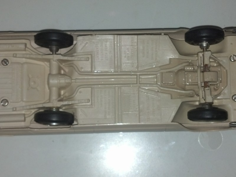 Pretty Good Detail of the undercarriage.