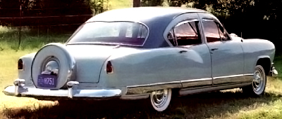 The Dragon was a series through 1953 for Kaiser.  This one has the Continental tire package.
