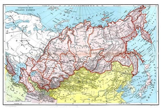 Asia Europe Route - 1908
