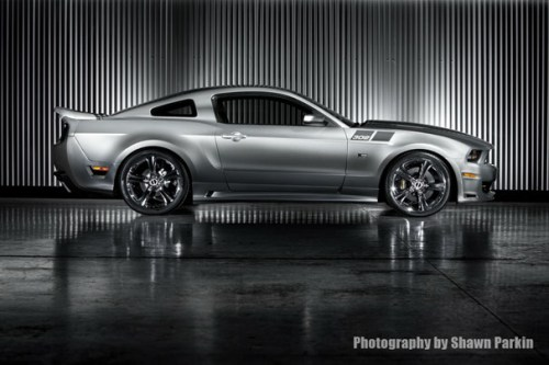 saleen black label mustang