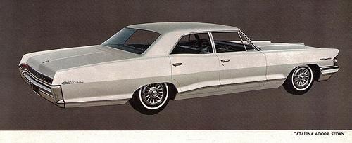 1965 4 door Catalina the 10th Millionth Pontiac
