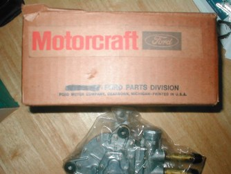 NOS Thunderbird Windshield wiper motor