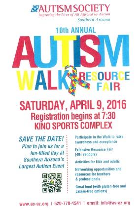 10 Annual Autism Walk - Tucson, AZ