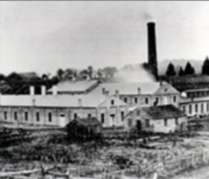 First Goodyear Factory