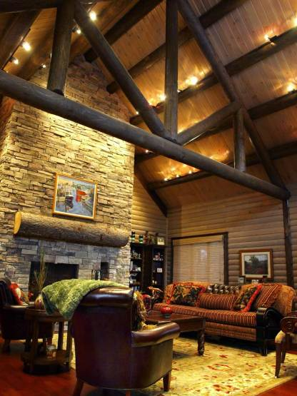 residential construction log home builder - Aver Contracting in Colorado