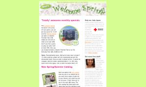 HTML Web Email Design