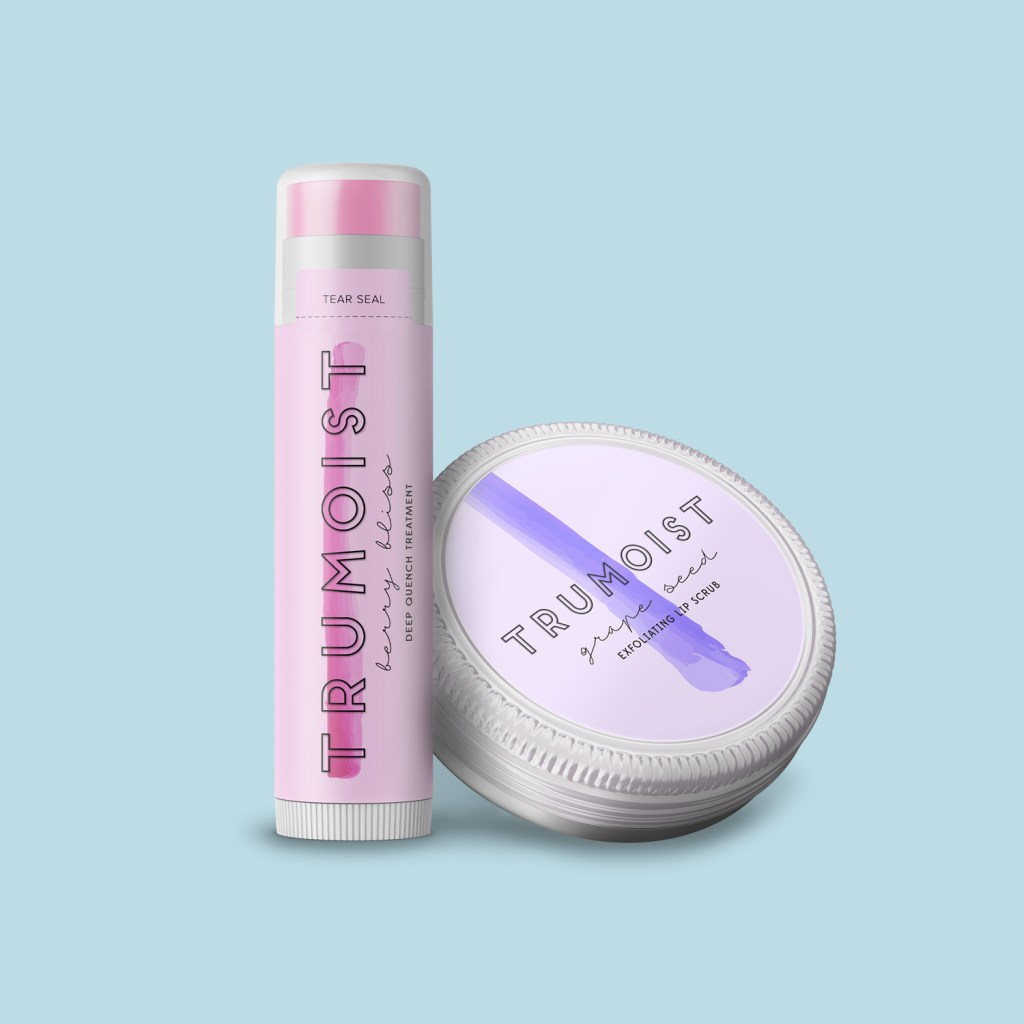 Lip Balm labels that wrap around products or on lids can make your products stand out