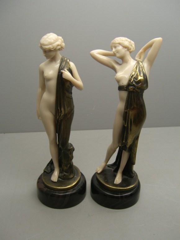Ferdinand Preiss Bronze Figures In Holborn Valuation For Probate