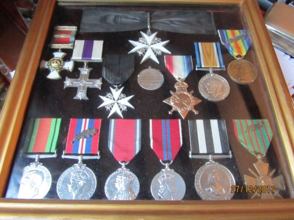 Group Of World War 2 Medals In Cricklewood Valuation For Probate