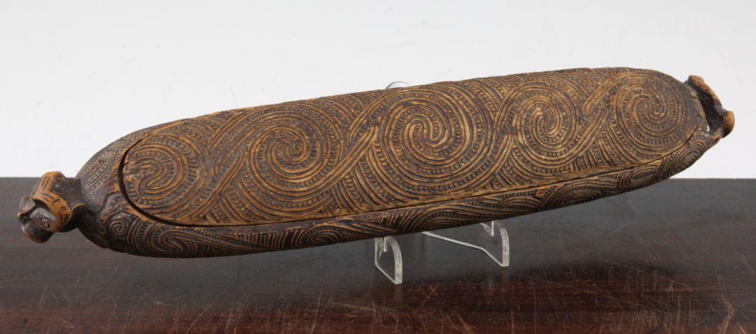 Maori Feather Box