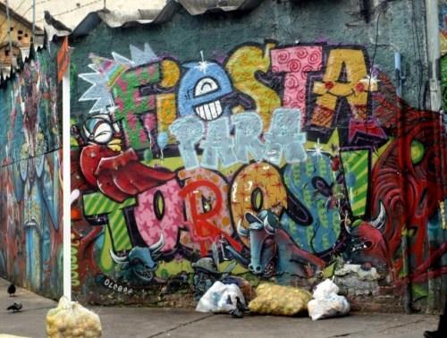bull graffiti pun