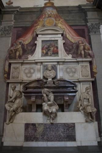 Michelangelo Tomb Santa Croce