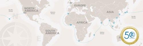semester at sea map