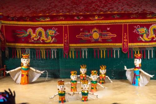 vietnam water puppet show 2