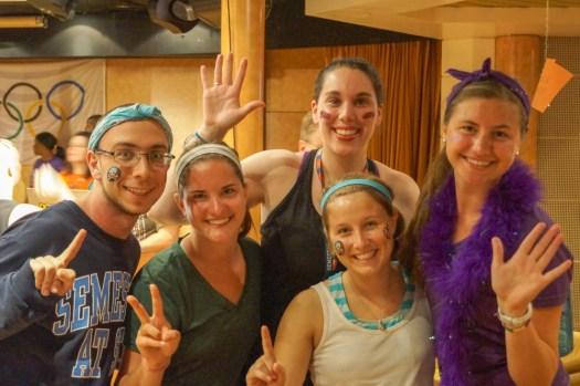 semester at sea olympics group photo
