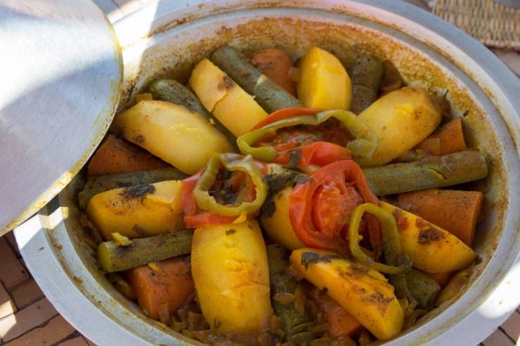 morocco vegetable tajine