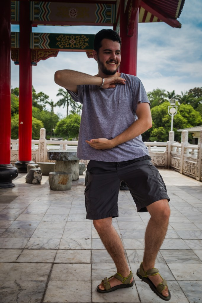 Tainan Park Practicing Tai Chi