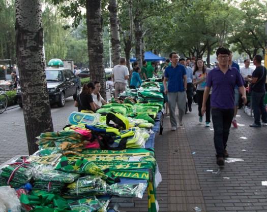 beijing guoan soccer match souvenirs