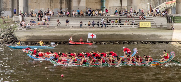 dragonboat race begins