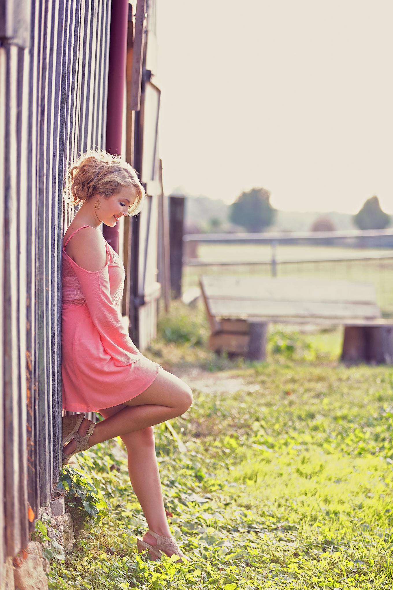 Gorgeous Louisville Senior Pictures Blackacre Farm