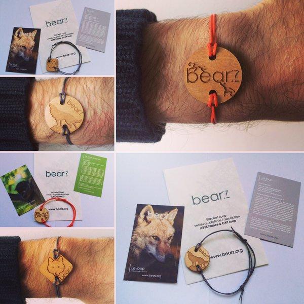 Nouveaux bracelets Bearz