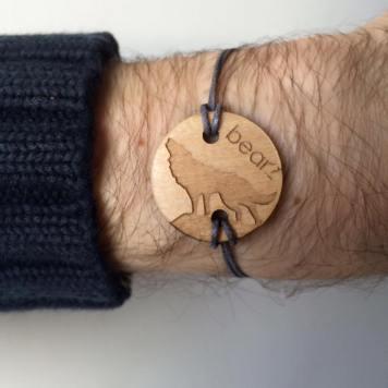 Bracelet Bearz LOUP