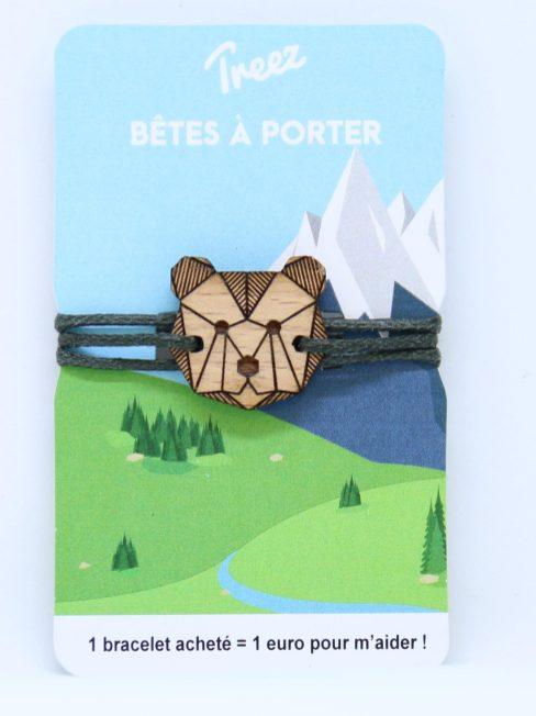 Bracelet Treez Bêtes à porter ours web