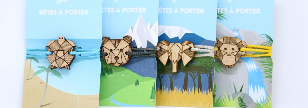 Treez collection bêtes à porter
