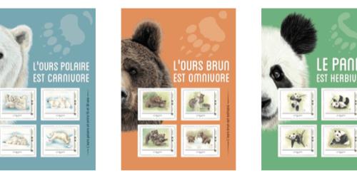 AVES France, La Poste et les Ours : un partenariat complètement timbré !