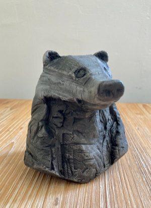 sculpture-tete-blaireau-sophie-larroche