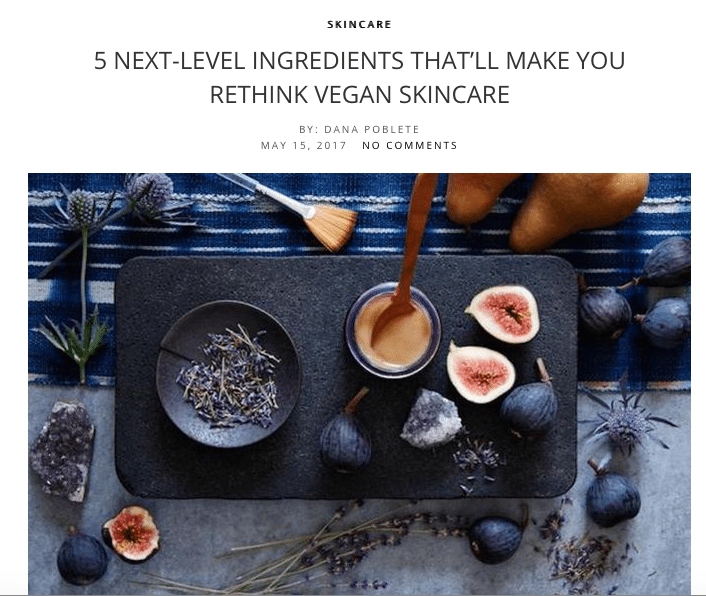 moisturize the makeup blogger vegan skin care
